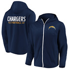Los Angeles Chargers Majestic Men's Defender Mission Primary Full Zip Hoodie $69.95 USD on eBay
