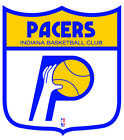 Indiana Pacers Shield  Logo Vinyl Decal / Sticker 2 Inches to 48 Inches!! on eBay