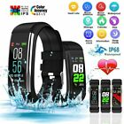 Smart Watches Fitness Tracker Heart Rate Blood Pressure Oxygen Monitor Wristband