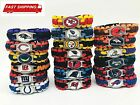 Football NFL US Team Umbrella Rope Wristband Bracelets Bracelet-Pick Team Gift $2.58 USD on eBay