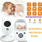 "3.5"" LCD Wirless Digital Video Baby Monitor Camera Night Vision Audio 2.4GHZ UK"