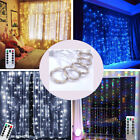 300 LED  USB String Fairy Lights Outdoor Garden Curtain Party Wedding Christmas