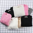 Baby Boys Girls Toddler Warm Knitted Sweater Pullover Clothes Long Sleeve Tops