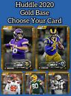 Topps Huddle 2020 - Base variants, gold, emerald, choose your DIGITAL card! $0.99 USD on eBay