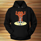 BUGS BUNNY GOSSAMER RED HAIRY MONSTER - Unisex HOODIE Black All Size