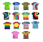 Kyпить Tie Dye T-Shirts Special Designs Adult Colortone 100% Cotton 5.3 Oz на еВаy.соm