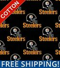 """Pittsburgh Steelers NFL Cotton Fabric - 60"""" Wide - Style# 6522 - Free Shipping!! $15.95 USD on eBay"""