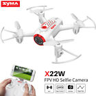 SYMA X22W RC Drone HD Camera 2.4 Ghz WIFI FPV Real Time Altitude Hold Quadcopter
