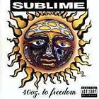 SUBLIME - 40 Oz. To Freedom - CD - **Mint Condition** - RARE
