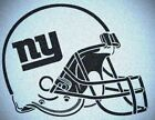 NEW YORK GIANTS HELMET STENCIL MYLAR SPORT FOOTBALL MANCAVE STENCILS $22.12 USD on eBay