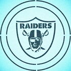 DOUBLE CIRLCE OAKLAND RAIDERS STENCIL SPORT FOOTBALL STENCILS $10.47 USD on eBay