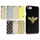 BEES DRONE HONEY GOLD GLITTER FUNNY QUOTES IPHONE & SAMSUNG HARD PHONE CASE