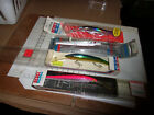Vintage Rebel Spoonbill Minnow rare color jointed or regular you choose     deep