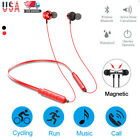 Neckband Bluetooth Headphones Noise Cancelling Headset  Stereo In-ear Earphones