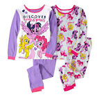 My Little Pony Cotton Girls' 4-Piece Pajama Set