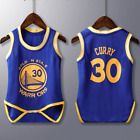 Infant Toddler Baby Basketball Jersey Romper Jumpsuit Newborn Suit Gift AUS