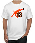 Odell Beckham Jr. T-Shirt - SUPERSTAR Cleveland Browns NFL Uniform Jersey #13 $14.99 USD on eBay