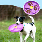 Flying Disc Silicone Outdoor Pet Toys Trainning Food Tray Catching Game Soft