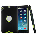 For iPad 2/3/4/5/6th Gen Mini Air 9.7 Case Shockproof Heavy Duty Rubber Cover US