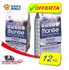 Monge Grain Free All Breed con ACCIUGHE, Patate e Piselli  2,5 / 12 kg per CANI