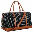 Baosha Hb-14 Canvas Travel Tote Duffel Bag Carry On Weekender Overnight Bag Over