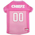 Pets First Kansas City Chiefs NFL Pink Mesh Jersey $23.99 USD on eBay