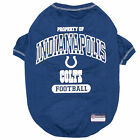 Pets First Indianapolis Colts Dog T-Shirt $17.99 USD on eBay