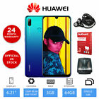"New Huawei P Smart 2019  6.21"" Unlocked Smartphone, 3GB RAM, 64GB Storage - Blue"