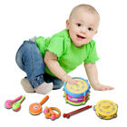 5/6/7PCS Kids Baby Drum Musical Instruments Band Kit Children Musical Toys Gift