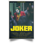 Hot Joker (2019) Joaquin Phoenix Movie Tv New Poster Size 16×24 24×36 #6