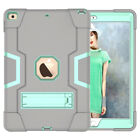 For iPad 7th Generation 10.2 2019 Case Shockproof Rubber Armor Hard Stand Cover