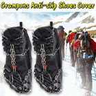 Ice Cleats Snow Crampons Anti-slip Spike Grips Walk Traction Climbing Shoes Boot