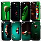 Snooker Case Glass Back Bumper Cover for Apple iPhone 6 6s 7 8 PLUS X XS MAX XR £4.99 GBP on eBay