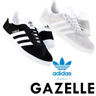 adidas originals mens gazelle trainers lace up suede casual shoes