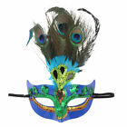 1Pc_Luxury Peacock Feathers Half Face Mask Party Cosplay Halloween Costume Gift