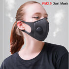 Black Respirator Mask Anti Dust Filter Activated Carbon Filtration Half Face