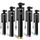 Mini Selfie Stick Monopod Wired Foldable Mobile Phone Holder For iOS & android
