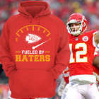 Kansas City Chiefs Fueled By Haters Red Hoodie Shirt Tyreek Hill KC Size S-5XL $29.99 USD on eBay