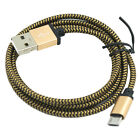 Micro USB and Lightning to USB Cable Fabric Braided Design, Smartphones, Tablets
