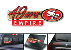 San Francisco 49ers Nation NFL Football Vinyl Car Truck Laptop Decal $5.0 USD on eBay