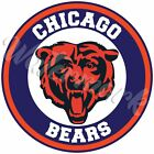Chicago Bears Bear Head Circle Logo Vinyl Decal / Sticker 10 sizes!! 🐻? $3.99 USD on eBay