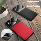 For iPhone XR XS MAX 8 7 Plus Leather Hybrid Protective Ultra Slim Case Cover