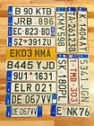 Europe/ European License Plates - Many Countries Available - Craft Condition