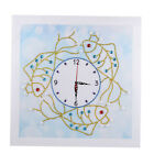 Diamond Painting for Kids Students Embroidery Clock Art Wall Hanging Decor