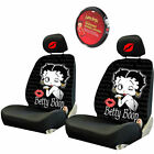 For BMW Betty Boop Car Truck SUV Seat Headrest Steering Wheel Covers New $31.4 CAD on eBay