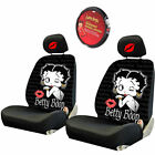 For BMW Betty Boop Car Truck SUV Seat Headrest Steering Wheel Covers New $65.54 USD on eBay