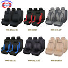 Car Seat Covers Full Set | Rear Bench with 3 Zippers | Embossed polyester $40.81 CAD on eBay