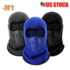 Winter Fleece Balaclava Thermal Motorcycle Ski Hat Full Neck Face Mask Outdoor