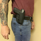 Holster OWB Belt Paddle Outside Waistband S&W M&P Shield 9/40 CT Laser Green