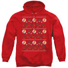 THE FLASH UGLY CHRISTMAS SWEATER Licensed Hooded and Crewneck Sweatshirt SM-5XL